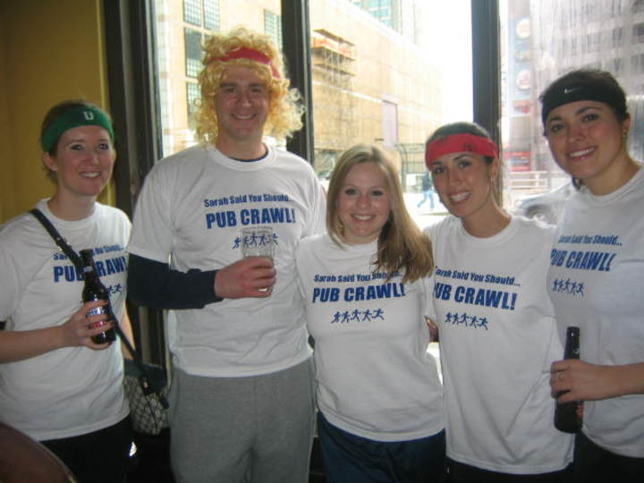 Sarah Said You Should Pub Crawl! T-Shirt Photo