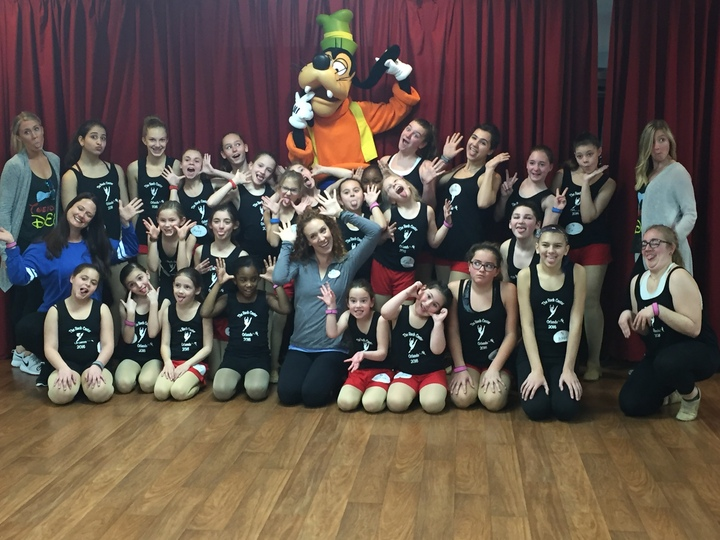 "Disney Dancers Get ""Goofy""  T-Shirt Photo"