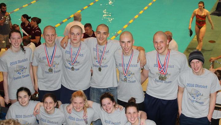 2016 District Swim Team T-Shirt Photo