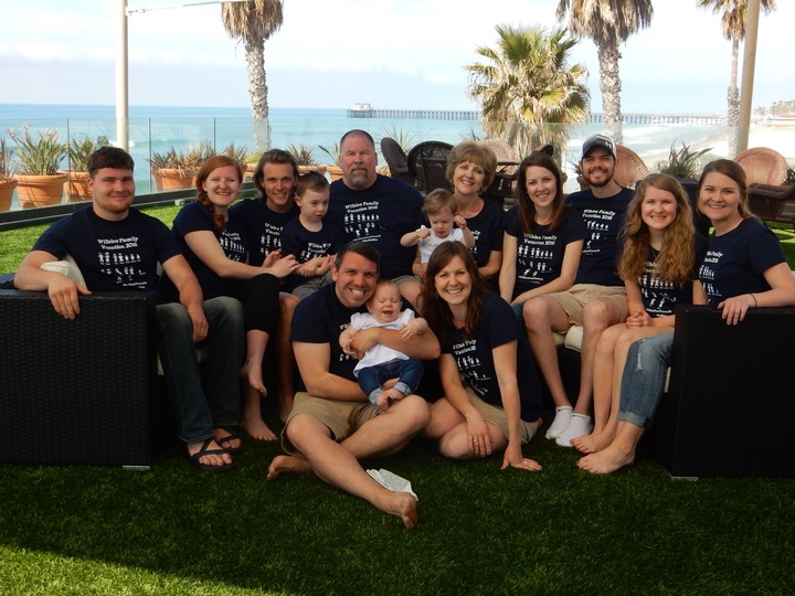 Wilbins Fam Vacay 16 T-Shirt Photo