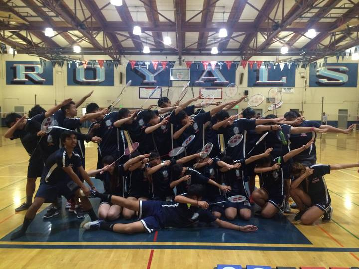 W.C. Overfelt Royals Badminton 2016 T-Shirt Photo