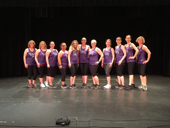 """So Many Reasons To...""  Dance For A Cure 2016 T-Shirt Photo"