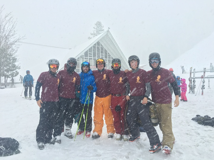 Tips Up Ski Team T-Shirt Photo
