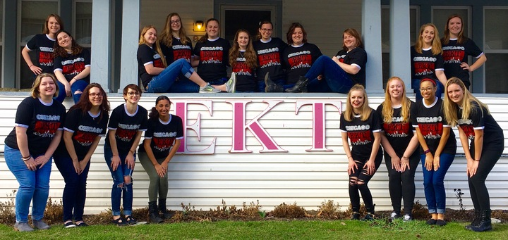 Ekt Takes The Stage For Greek Week! T-Shirt Photo