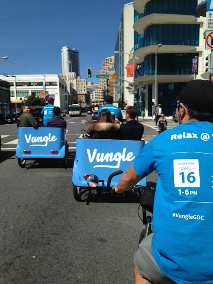 Vungle Branding In Sf!  T-Shirt Photo