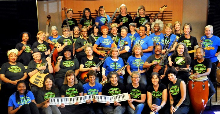Jazzschool Women's Jazz & Blues Camp, Berkeley, Ca T-Shirt Photo