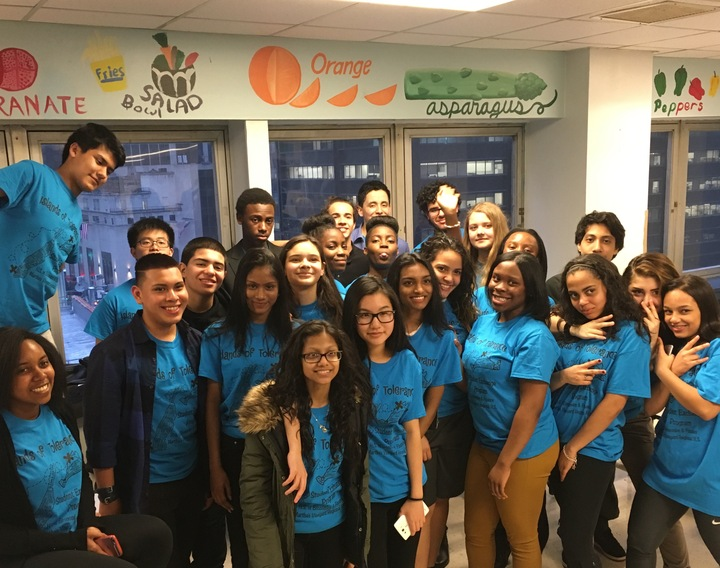 Islands Of Tolerance Exchange Program Loves Their New Shirts T-Shirt Photo