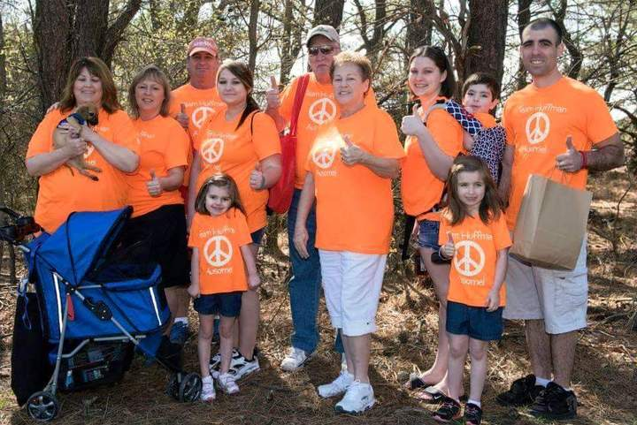 Team Huffman (Zachary)   Autism Walk  T-Shirt Photo