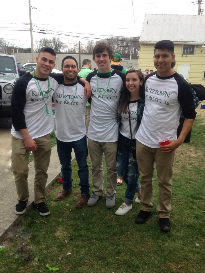 Kutztown St. Patty's 2016 T-Shirt Photo