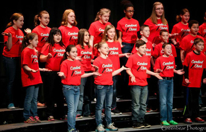 Cardinal Chords Choir T-Shirt Photo
