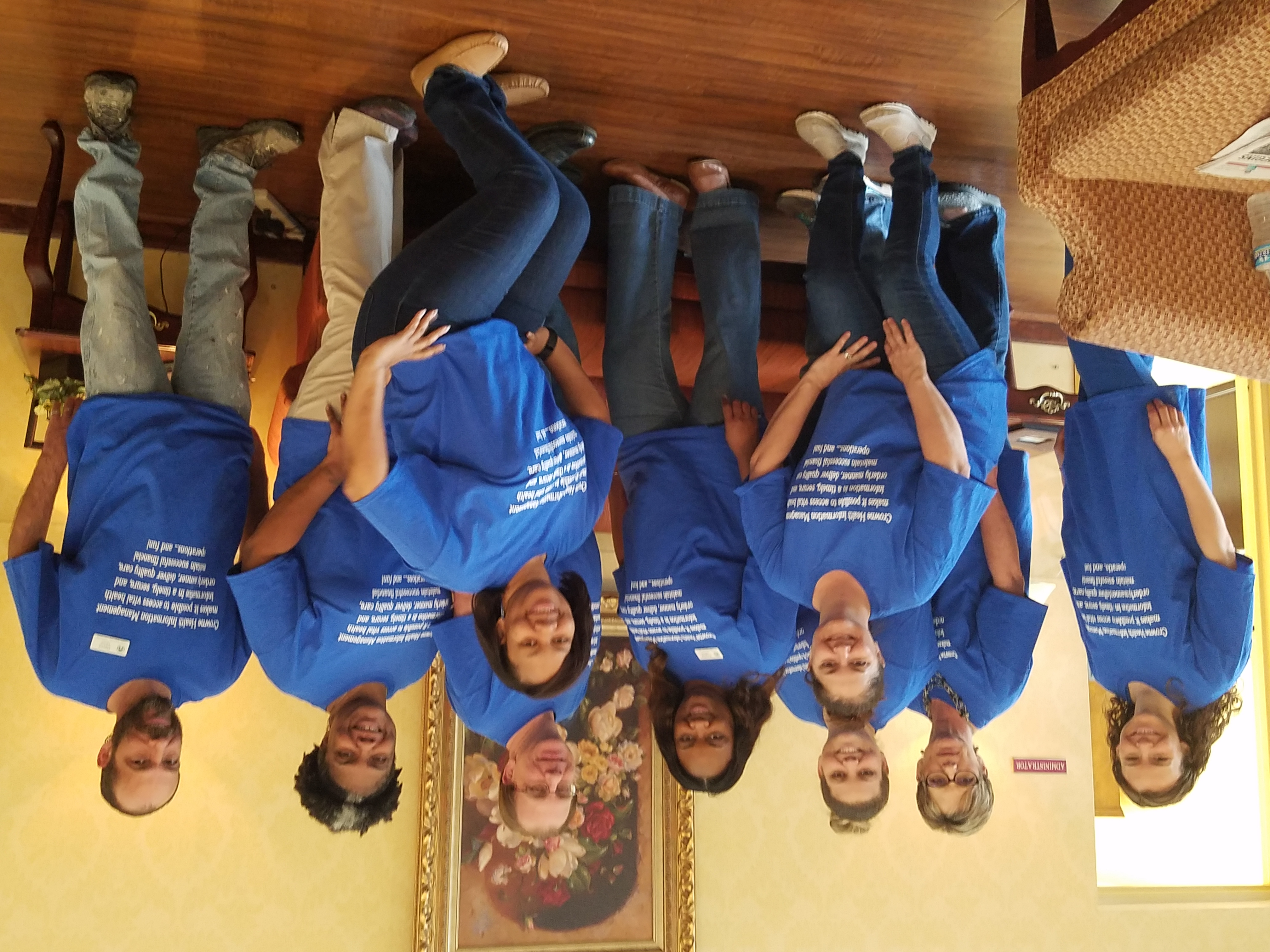 Custom t shirts for health information professionals week for Custom t shirts montgomery al