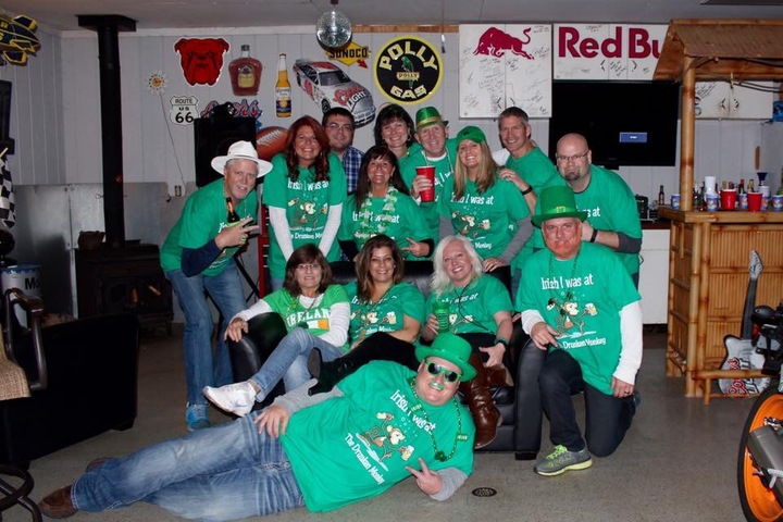 Irish Is Was At The Drunken Monkey T-Shirt Photo