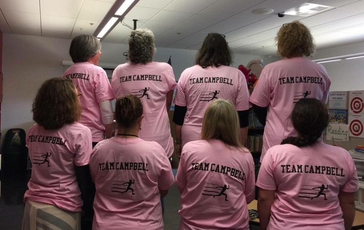 Team Campbell T-Shirt Photo