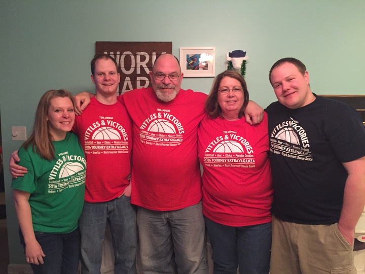 March Madness Family Fun T-Shirt Photo