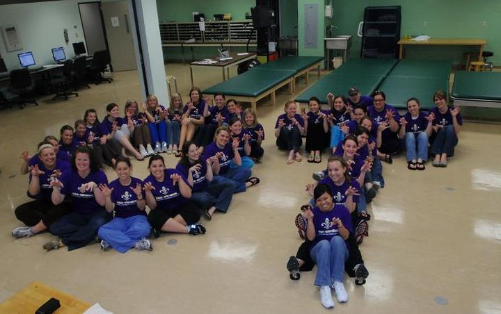 Bringing Out The Tiger In Us! Occupational Therapy C/O 2010 T-Shirt Photo