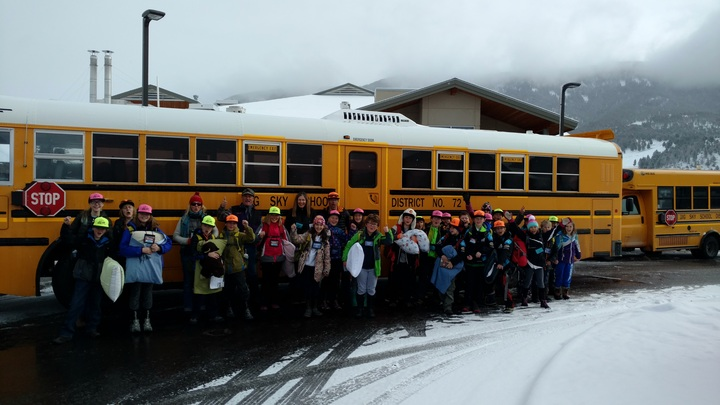 Students Fired Up About Wearing Their New Hats To Yellowstone! T-Shirt Photo