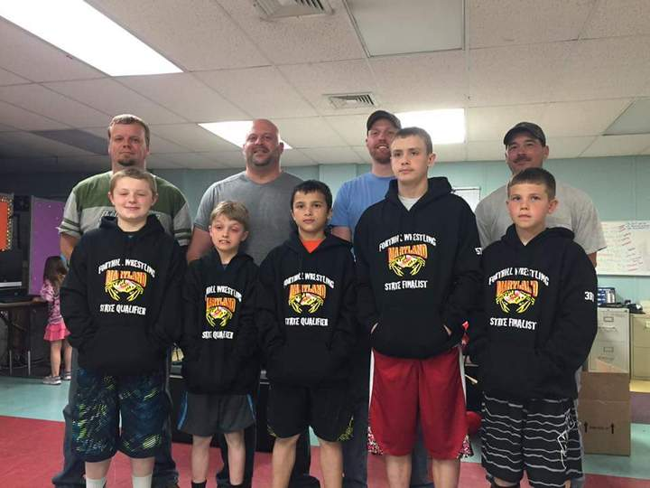 Wrestling Youth State Qualifier Hoodies T-Shirt Photo