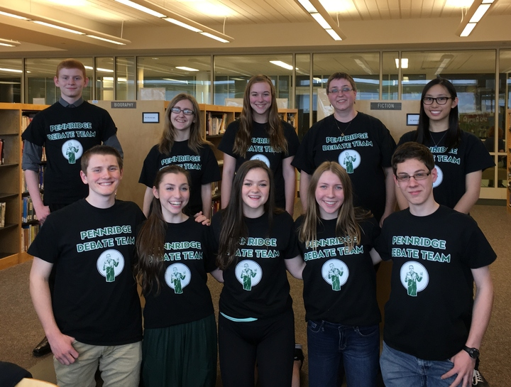 Debate Rocks! T-Shirt Photo