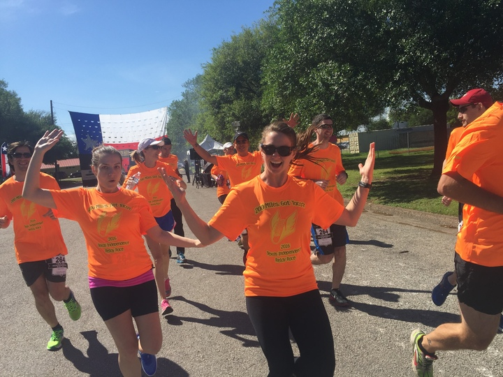 Texas Independence Relay Race  T-Shirt Photo