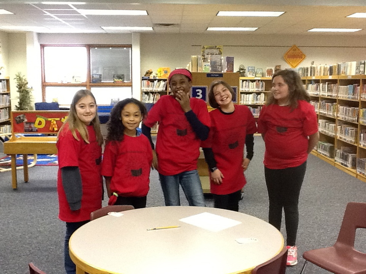 Looking Good In Our T Shirts While We Read! T-Shirt Photo
