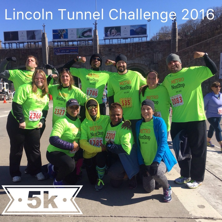 Lincoln Tunnel Challenge T-Shirt Photo