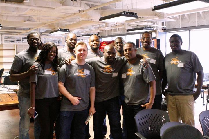 Coders4 Africa Crew T-Shirt Photo
