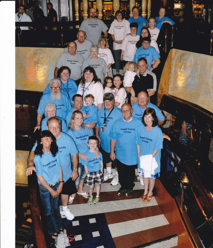Powell Family Cruise T-Shirt Photo