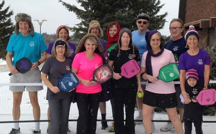 April Pickleball In Northern Minnesota T-Shirt Photo