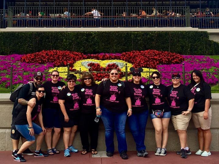 40th Birthday At Disney World! T-Shirt Photo