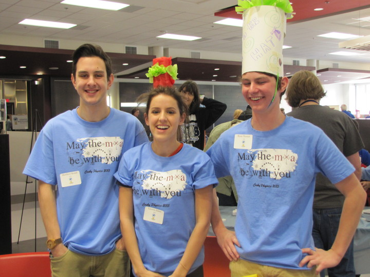 Physics Steam Fair Winners! T-Shirt Photo