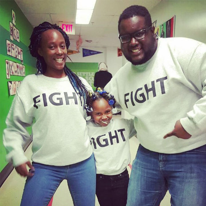 Fight Fear @ Achievement First Hartford Academy T-Shirt Photo