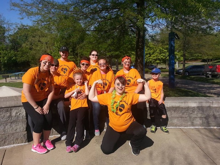 Team Mc Nair Ms Walk For A Cure 2016 T-Shirt Photo