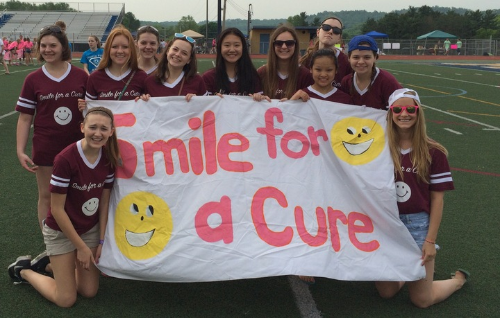 Relay For Life: Smile For A Cure 2015 T-Shirt Photo