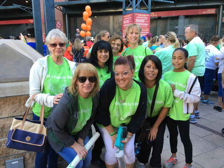 Trade A Kidney For Wings Kidney Walk 2016 T-Shirt Photo
