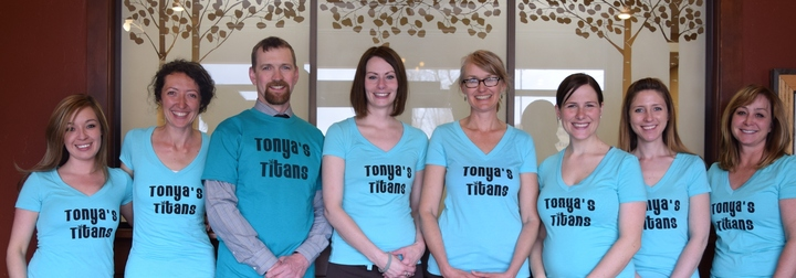 Tonya's Titans For Central Colorado Dermatology T-Shirt Photo