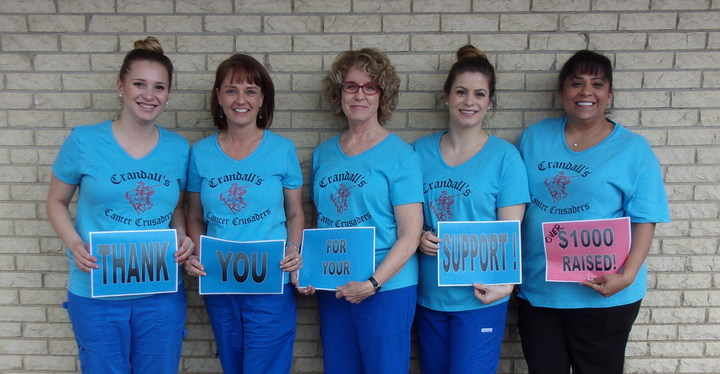 Oral Cancer Awareness 5 K T-Shirt Photo