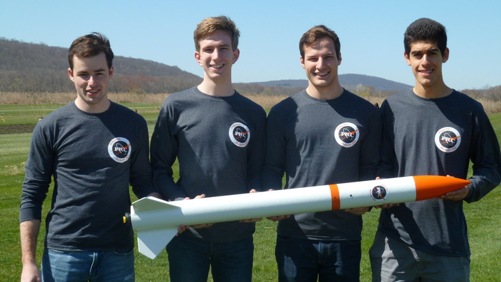 Princeton Rocketry Club Launch T-Shirt Photo