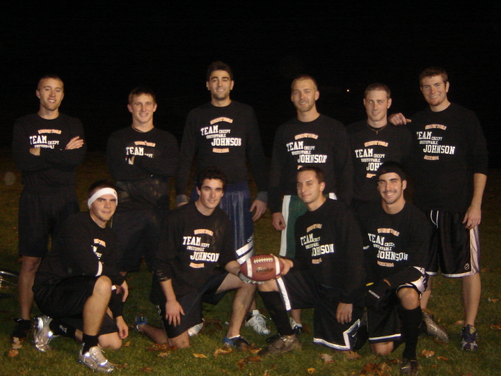 Post Game Team Johnson Pic T-Shirt Photo