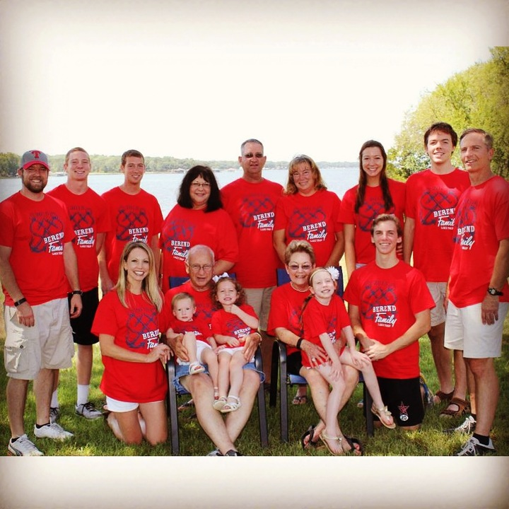 Family Lake Trip T-Shirt Photo