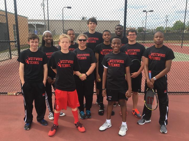 Westwood Men's Tennis 2016 T-Shirt Photo