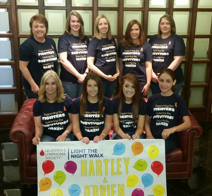 Hartley & O'brien Lls Light The Night 2016 T-Shirt Photo