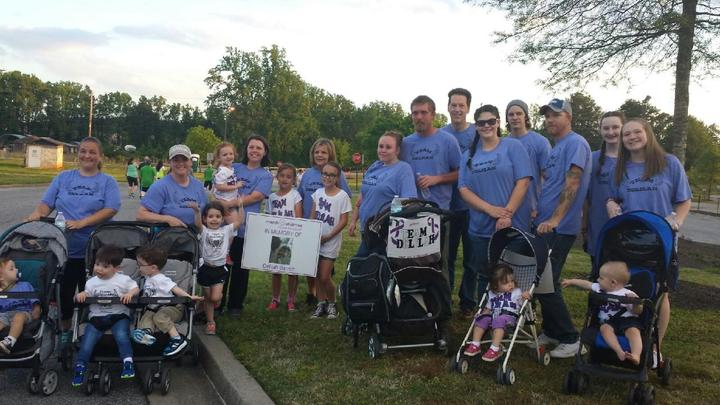 Team Delilah March For Babies 2016 T-Shirt Photo