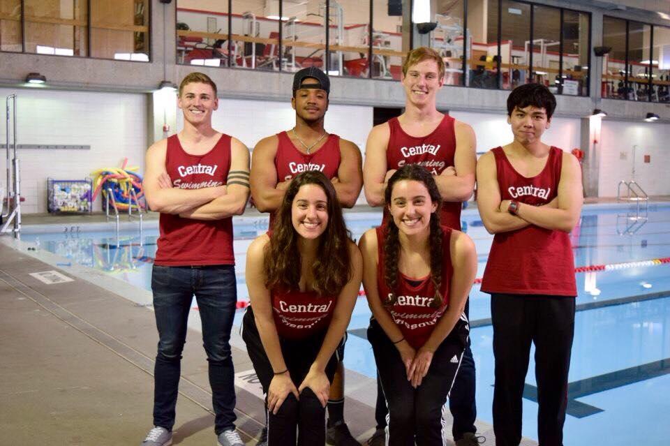 University Of Central Missouri >> Custom T Shirts For University Of Central Missouri Swim Team