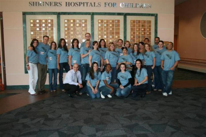 Shriners Hospital Visit T-Shirt Photo