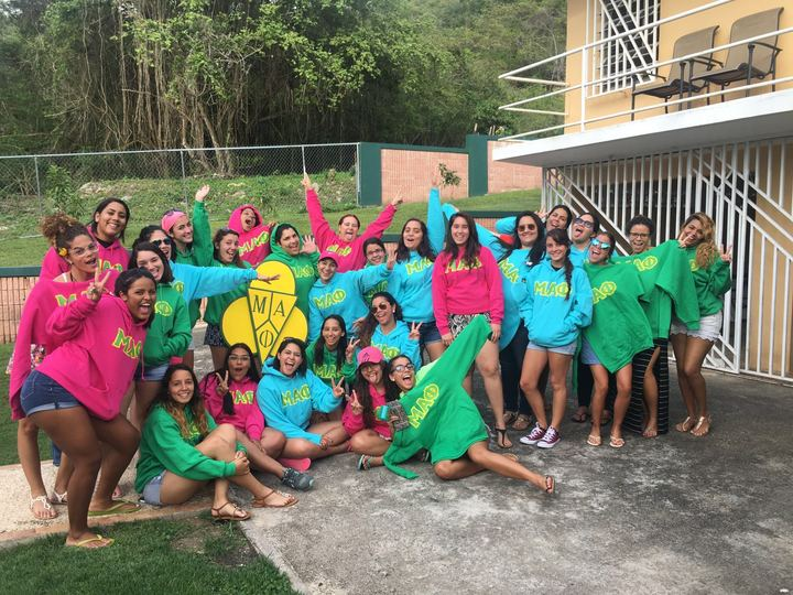 Puerto Rico Mu Alpha Phi Gamma Chapter T-Shirt Photo
