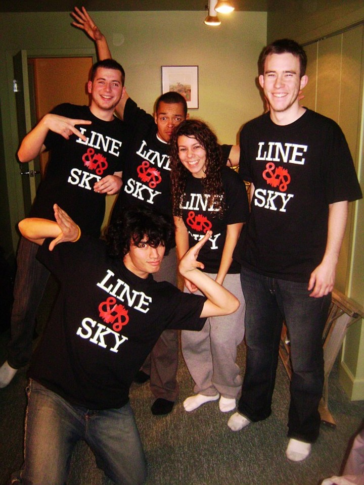 Line And Sky Reunion T-Shirt Photo