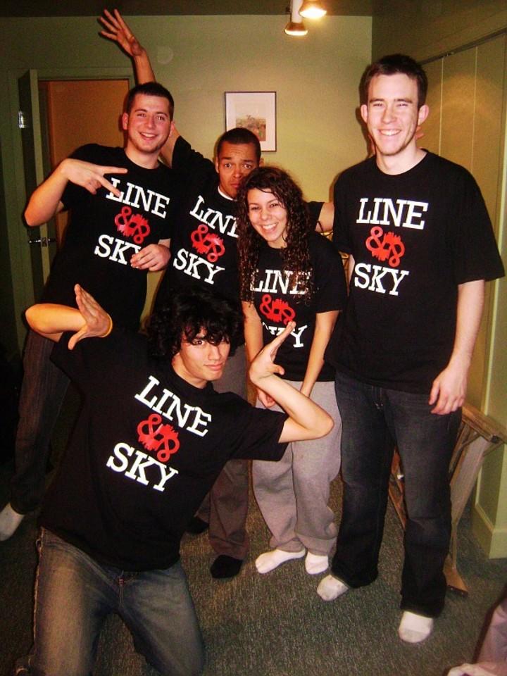 Custom T-Shirts for Line And Sky Reunion - Shirt Design Ideas