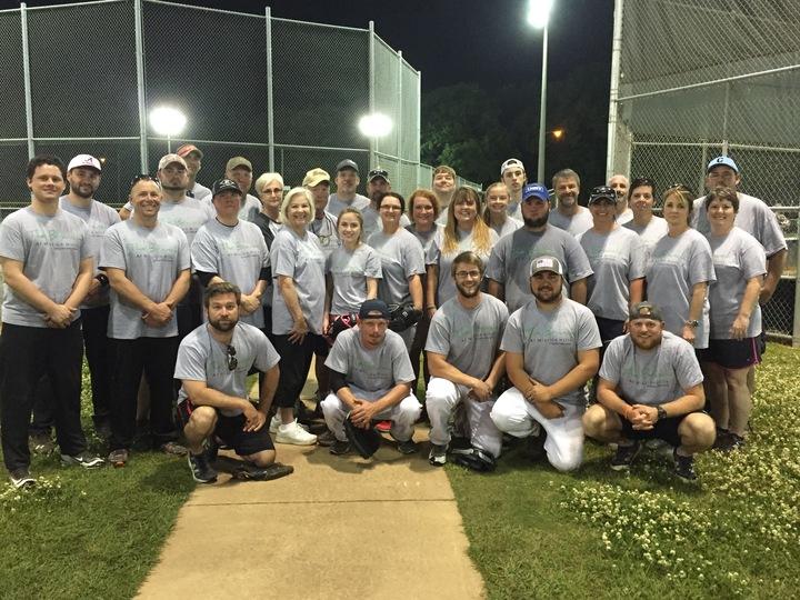 The Branch Softball Team T-Shirt Photo
