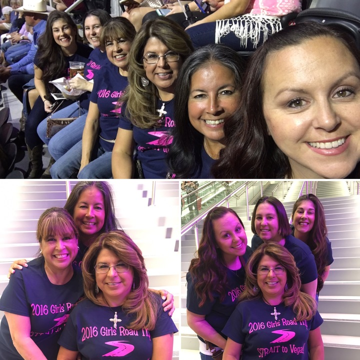 2016 Girls' Road Trip...Strait To Vegas T-Shirt Photo