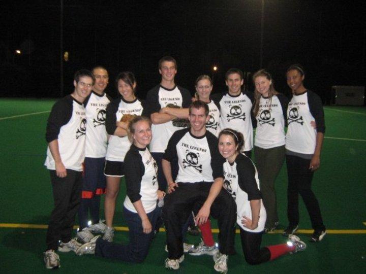 The Legends Winning Their Final Softball Game T-Shirt Photo